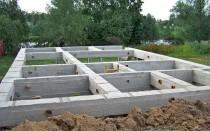 Выбираем фундамент для дома из пеноблоков