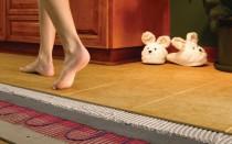 Теплые полы под ламинат на бетонный пол
