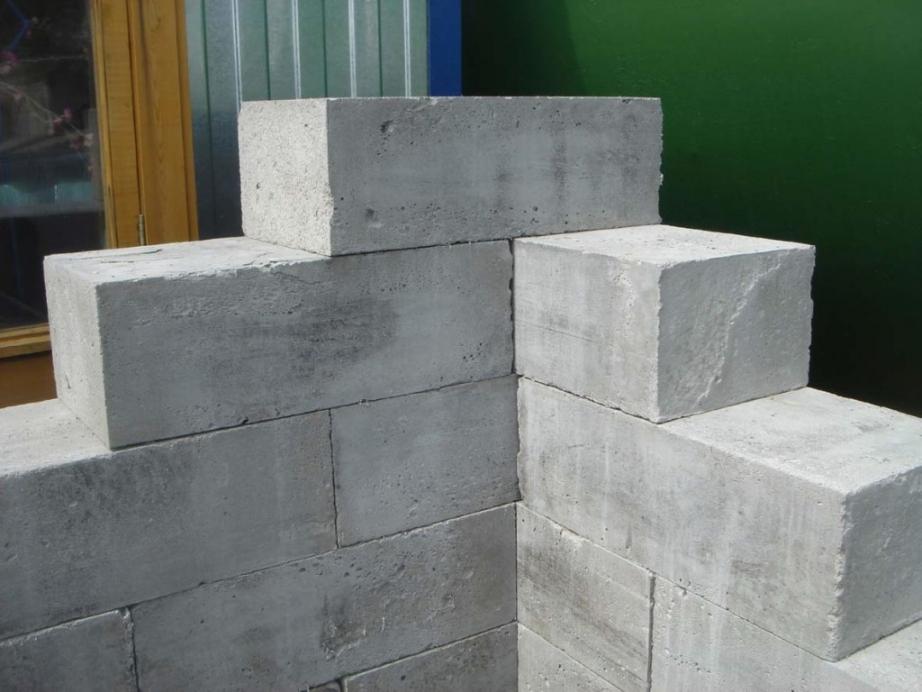 Расчет числа блоков на дом