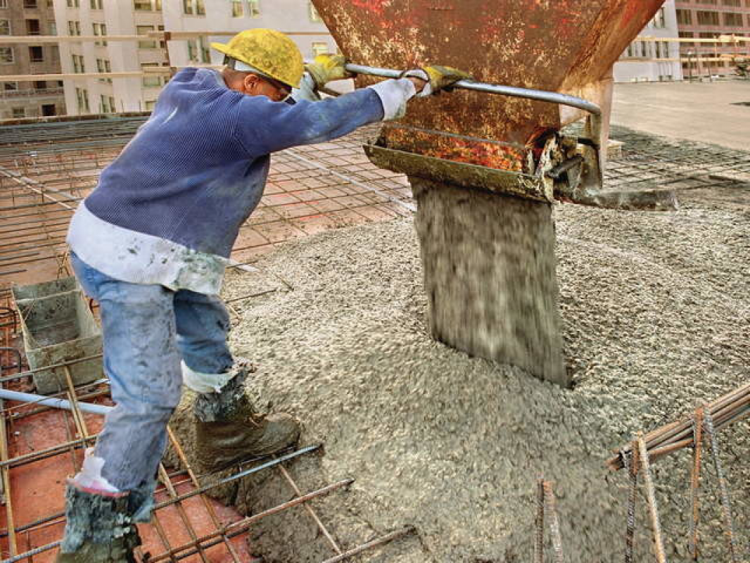 Готовый бетон для фундамента