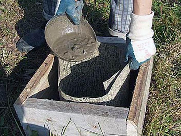 Как сделать бетон в домашних условиях