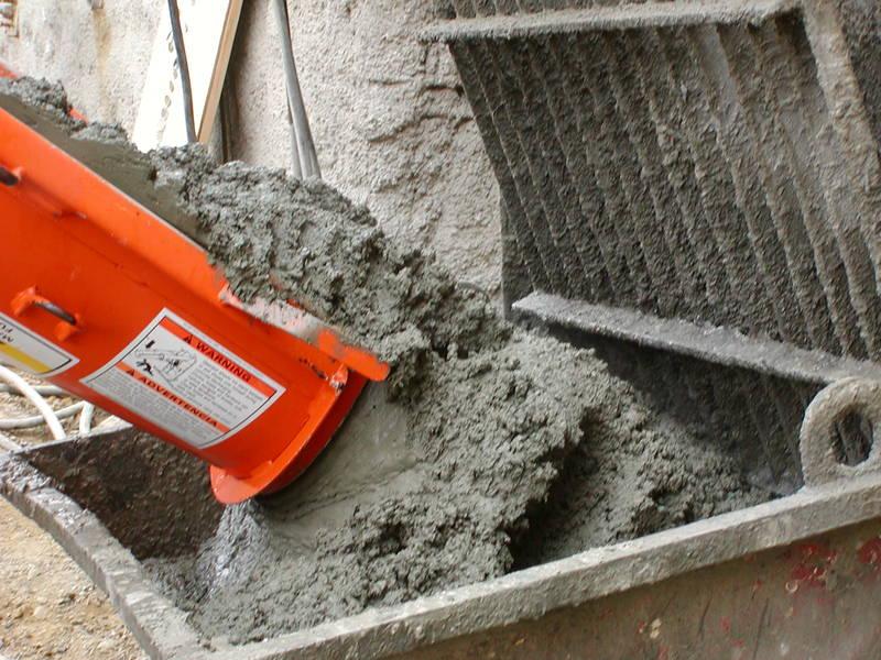Кубометр раствора бетона