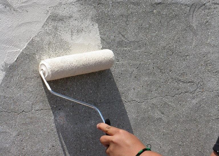 Подготовка бетона к покраске