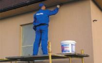 Виды красок по бетонным фасадам