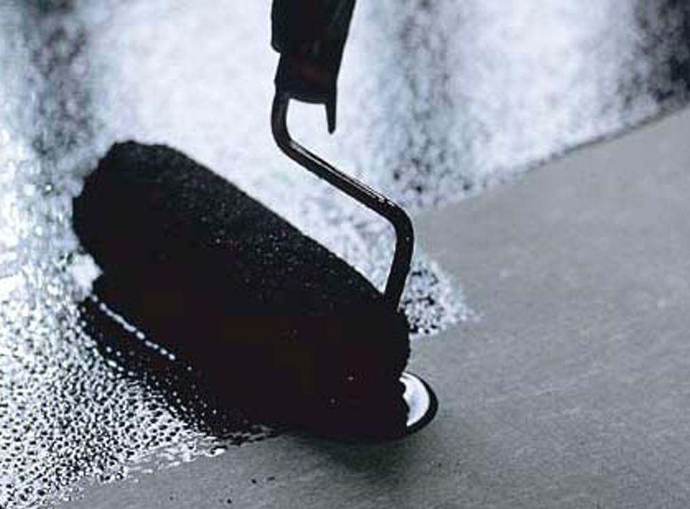 Покрытие гидроизоляционной мастикой