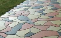 Пропорции для приготовления раствора для тротуарной плитки