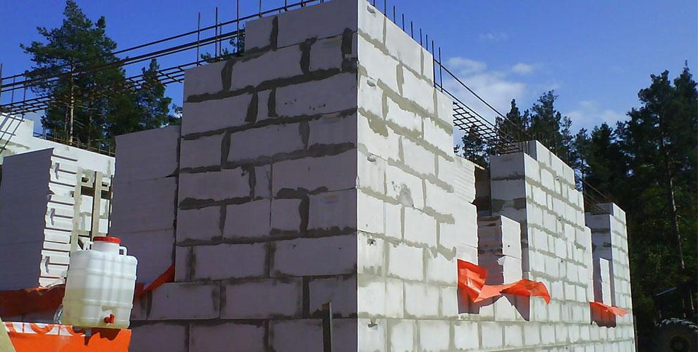Строительство дома из шлакоблоков