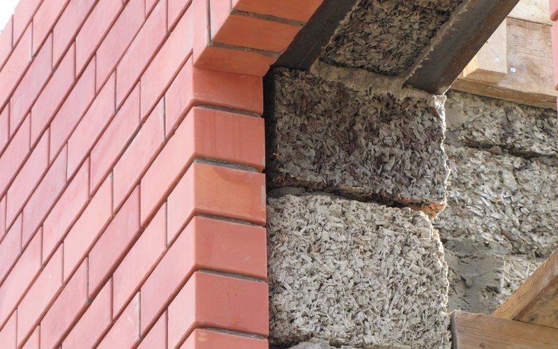 Стены из опилкобетона