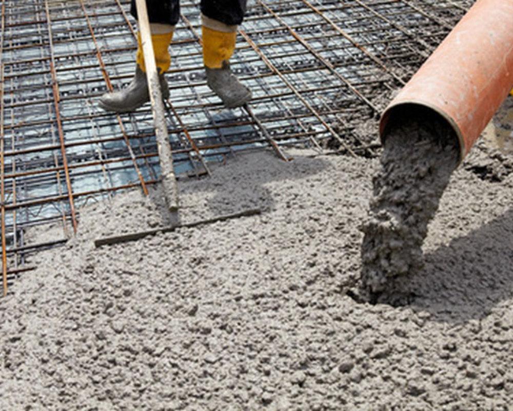Укладка бетона М300