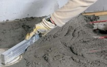 Расход пескобетона М300 на 1м2