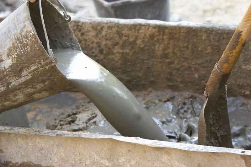 Изготовление раствора для кладки