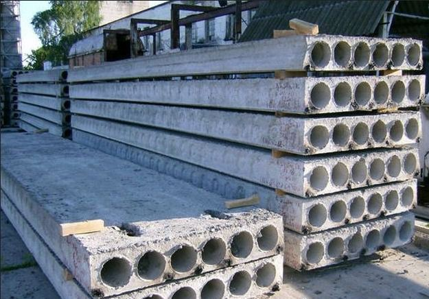 Плиты перекрытия из бетона