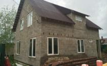 Дом из бетонных блоков — особенности и виды материала