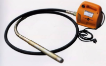 Вибратор для бетона  — характеристики и применение инструмента